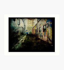 Laneway Grunge Art Print