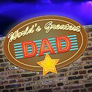 World's Greatest Dad Neon Sign by YellowGecko