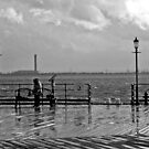 wet south coast pier 2 by bywhacky