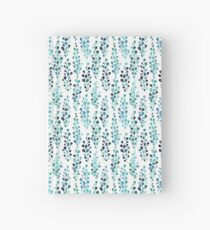 Turquoise foliage  Hardcover Journal