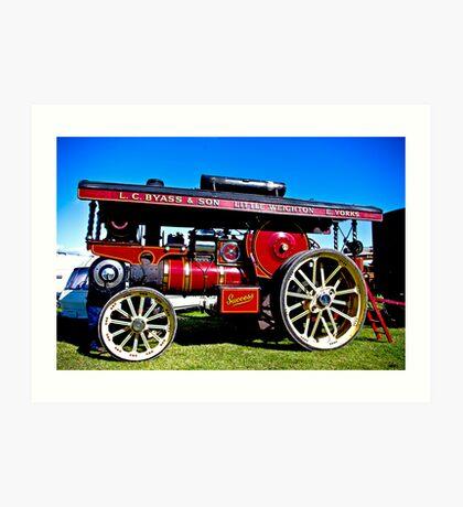 Showmans Road Locomotive Art Print