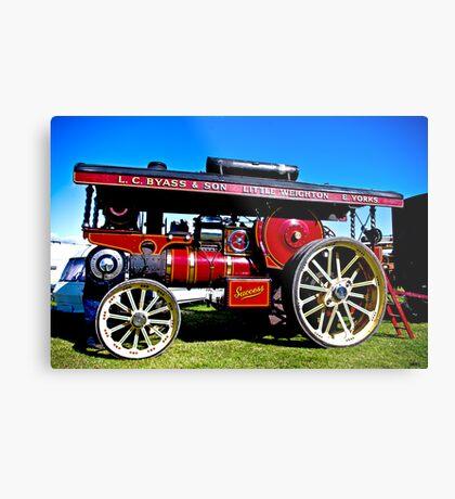 Showmans Road Locomotive Metal Print
