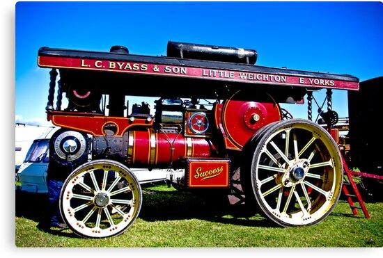 Showmans Road Locomotive by Trevor Kersley