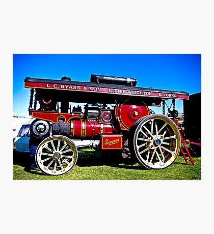 Showmans Road Locomotive Photographic Print