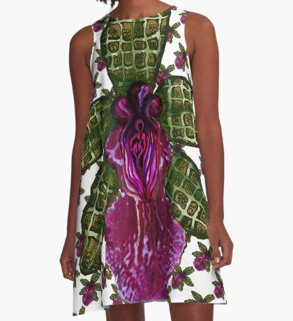 Pinque Trellis A-Line Dress