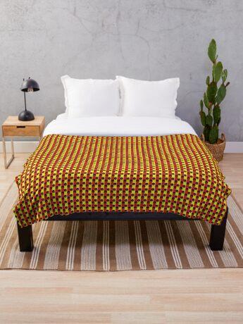 Pan-Afro1 Throw Blanket
