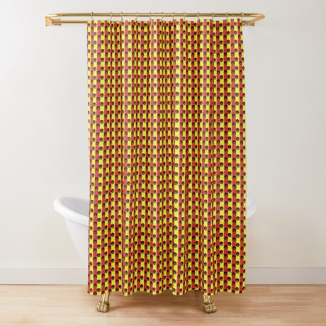 Pan-Afro1 Shower Curtain