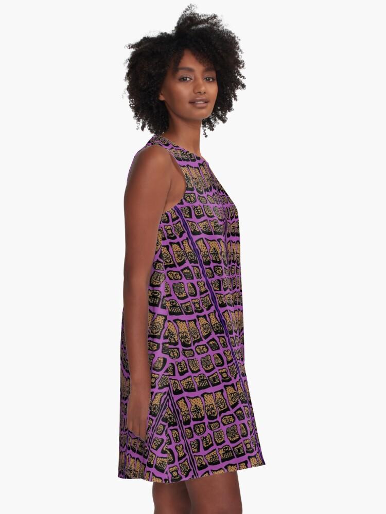 Alternate view of ExuberWinkle COTY  A-Line Dress