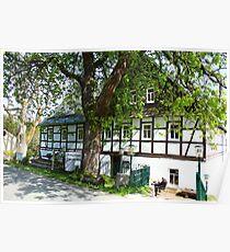 Mountain Inn in Saxony Poster