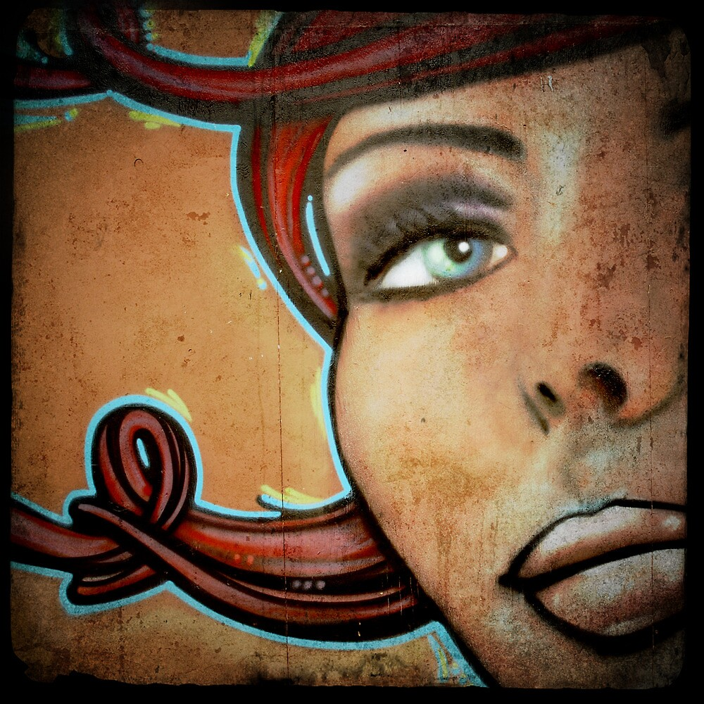 Graffiti Girl by Robert Baker