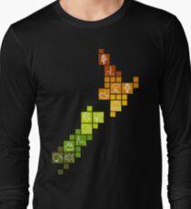 New Zealand Fun Map Long Sleeve T-Shirt