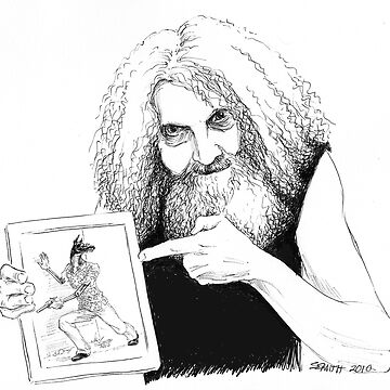 Alan Moore and Friend by stephsmith