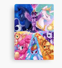 This is PONIES Canvas Print