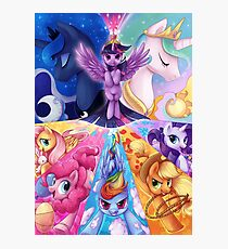 This is PONIES Photographic Print