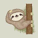 Shy sloth by Toru Sanogawa