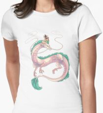 Spirited Away Women's Fitted T-Shirt