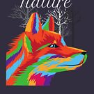 Wolf Connected to Nature by isstgeschichte