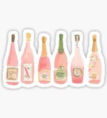 Pink Champagne Sticker
