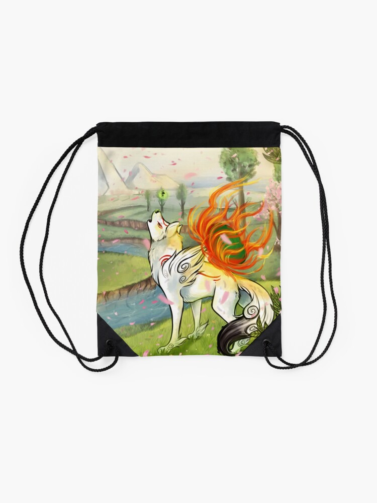 Alternate view of Okami Drawstring Bag