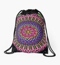 Delicious Singing Petals Mandala Drawstring Bag