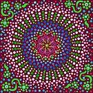 Delicious Singing Petals Mandala by tqueen