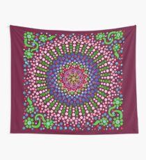 Delicious Singing Petals Mandala Wall Tapestry