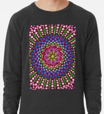 Delicious Singing Petals Mandala Lightweight Sweatshirt