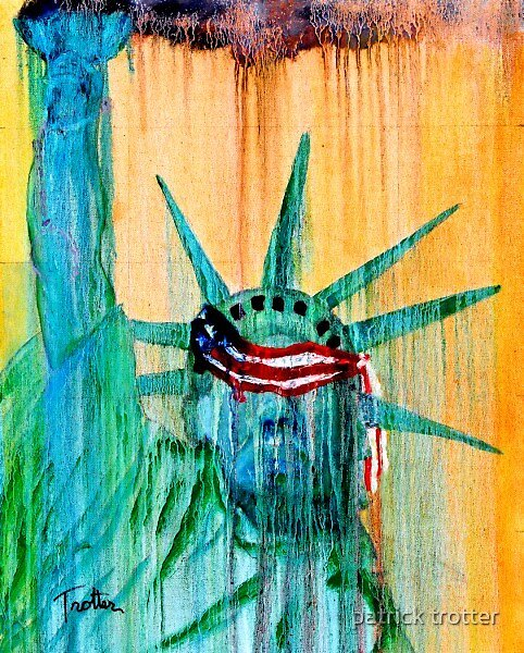 Liberty No More by patrick trotter