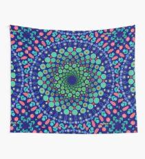 Undersea Whirpool Mandala Wall Tapestry