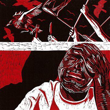 'Ere, trandlers, quit yer crowbaggin' by BenedictMayer