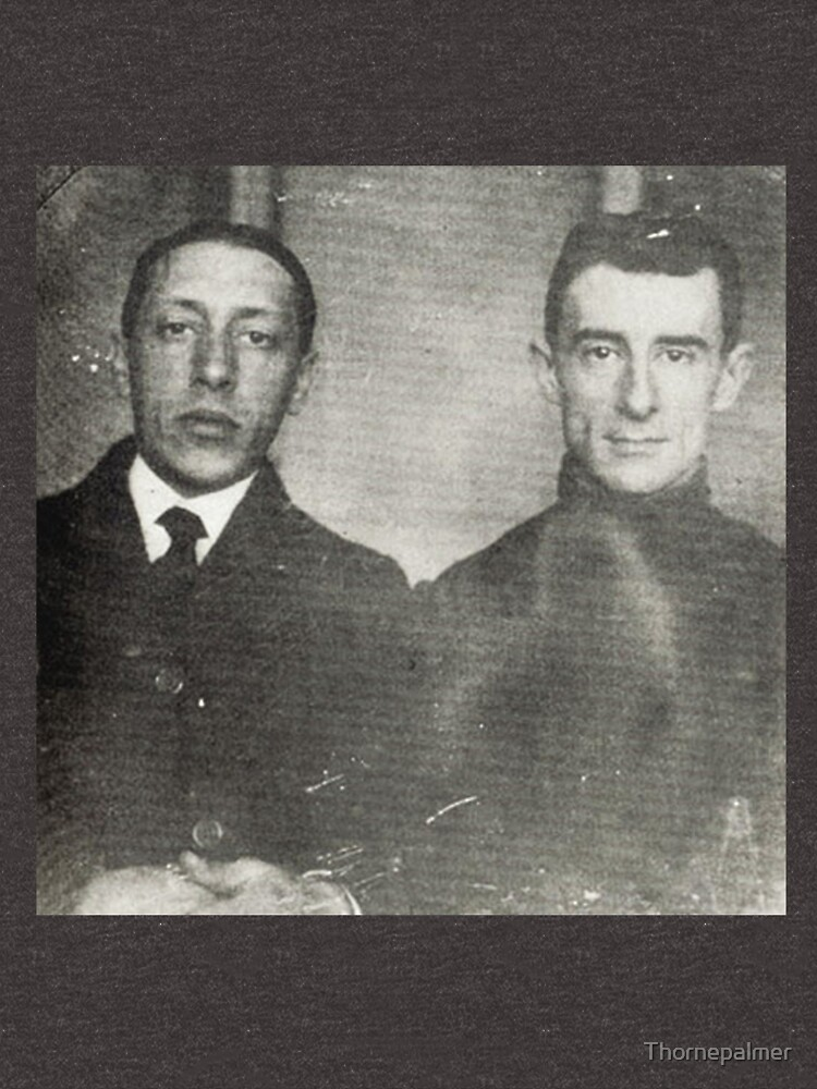 Igor Stravinsky and Maurice Ravel - Brilliant Composers by Thornepalmer