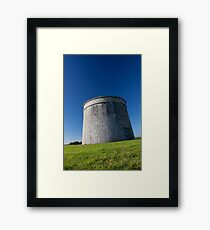 martello tower Framed Print
