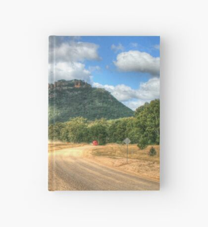 Gardens Of Stone ... With Red Truck Hardcover Journal