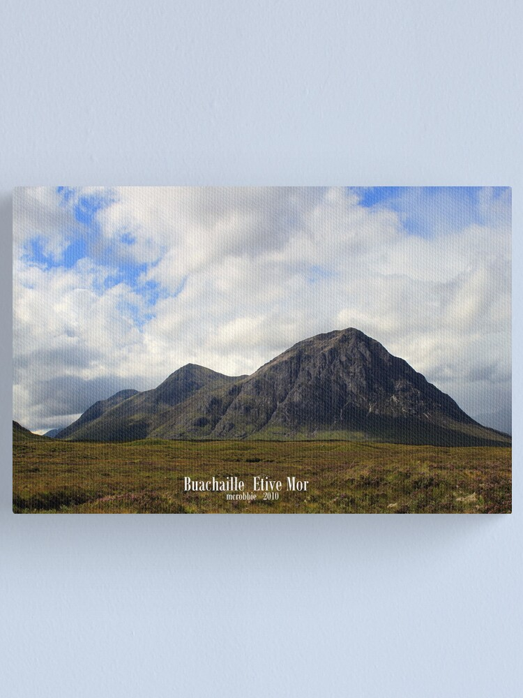 Alternate view of Buachaille  Etive  Mor Canvas Print