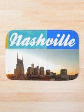 Nashville Tennessee City Scape Schön Badematte