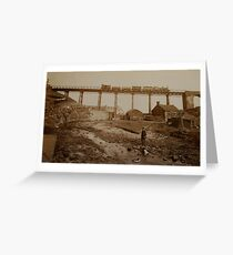 Sandsend, Whitby.(then) Greeting Card