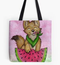 Melon Coyote - A Summertime Treat! Tote Bag