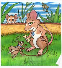 The Cricket Trainer - A Mouse's Pet Poster