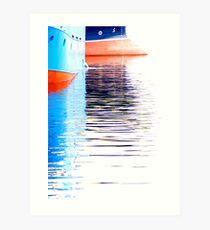 Trawlers Art Print