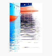 Trawlers Photographic Print