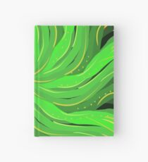 Palm Fronds Summer vibe Hardcover Journal