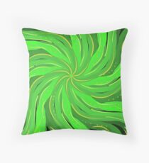 Palm Fronds Summer vibe Throw Pillow