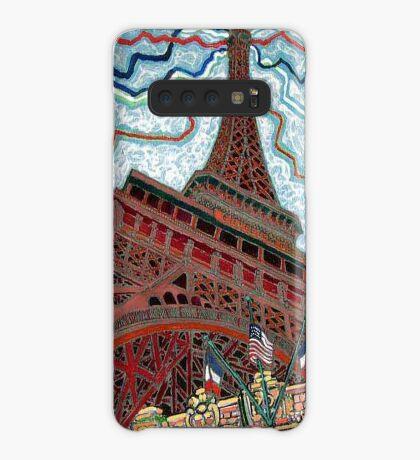 Paris, France, Las Vegas, Nevada, USA Case/Skin for Samsung Galaxy
