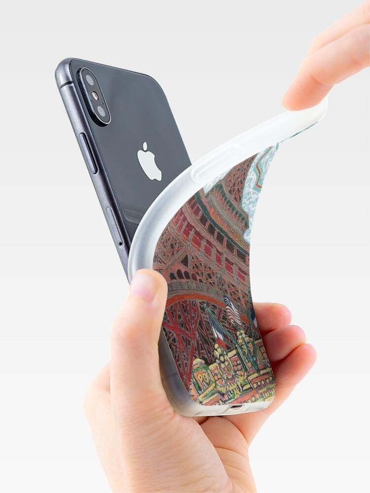 Alternate view of Paris, France, Las Vegas, Nevada, USA iPhone Case & Cover