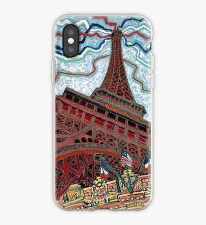 Paris, France, Las Vegas, Nevada, USA iPhone Case