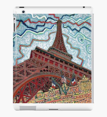 Paris, France, Las Vegas, Nevada, USA iPad Case/Skin