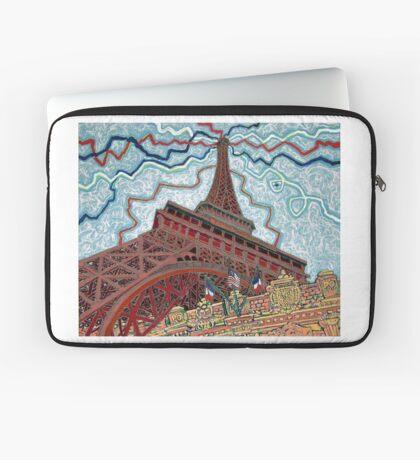Paris, France, Las Vegas, Nevada, USA Laptop Sleeve