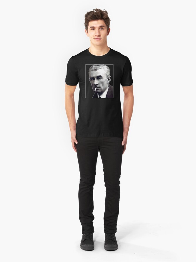 Alternate view of Maurice Ravel - Great French Composer Slim Fit T-Shirt