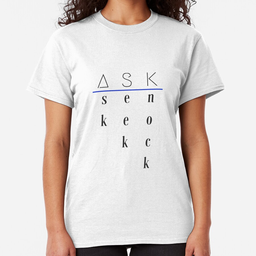 Ask, Seek, Knock Classic T-Shirt