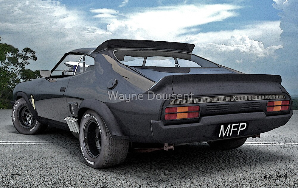 MAD MAX PURSUIT SPECIAL by Wayne Dowsent